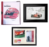 Collection of Michael Schumacher related items