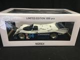 Porsche 956, winner Daytona 24 hours, signed Derek Bell MBE