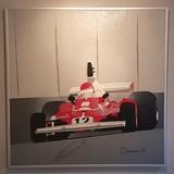 Niki Lauda-signed Arthur Benjamins original