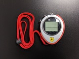 Ferrari Hockenheim Stopwatch by Oregan Scientific.