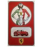 Ferrari Girl by Tony Upson