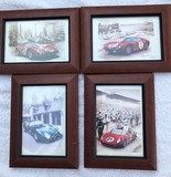 A set of 6 Francois Bruere prints