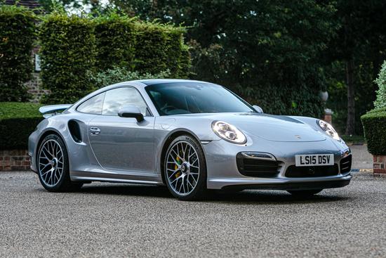 2015 Porsche 911 (991) Turbo S