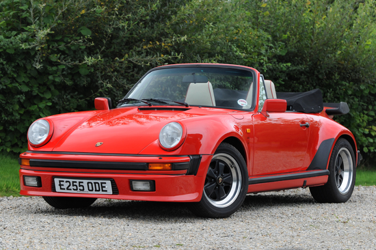 1988 Porsche 911 Supersport Cabriolet