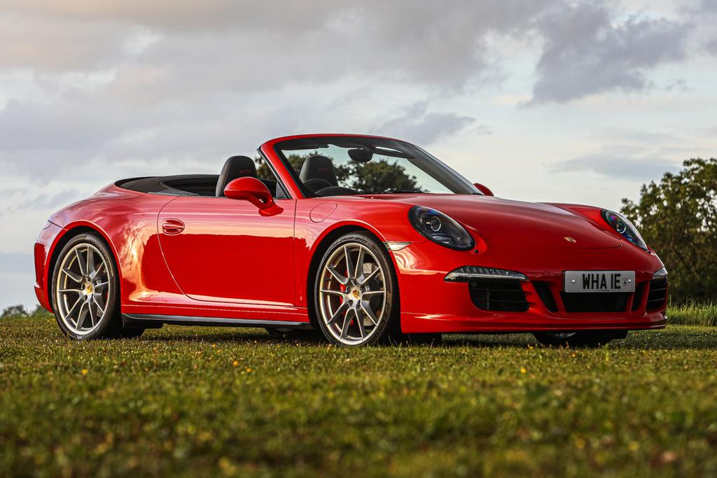 2015 Porsche 911 (991) Carrera Convertible GTS Manual