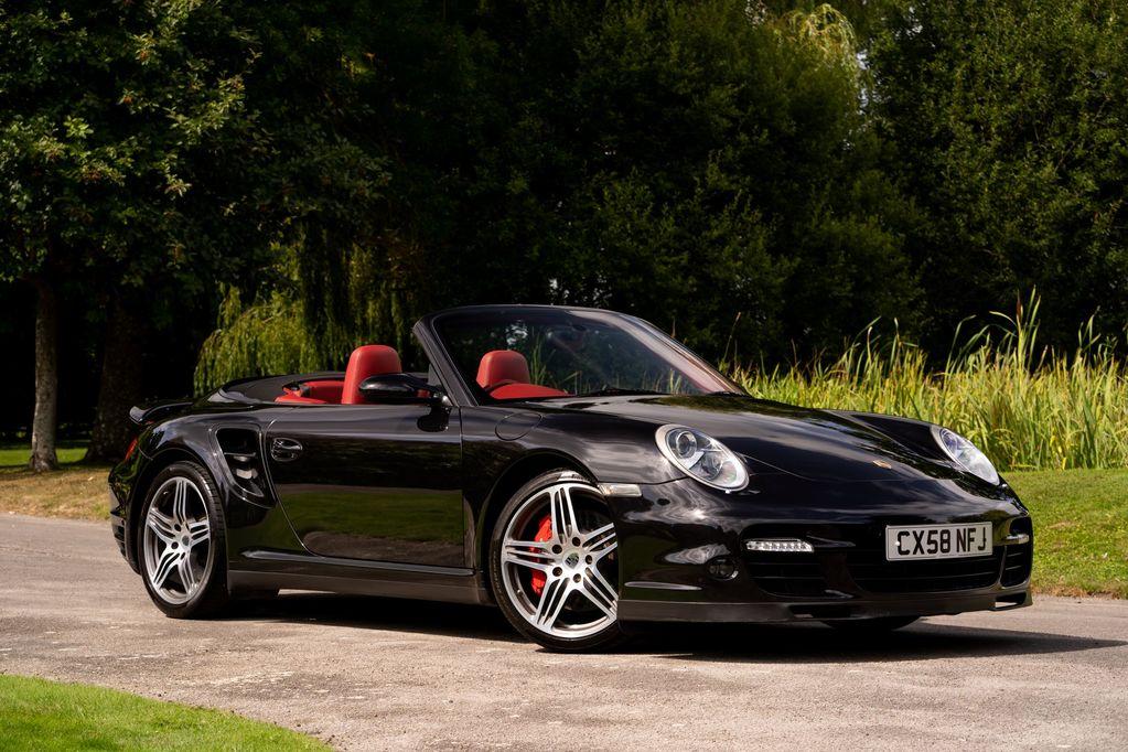 2008 Porsche 911 (997) Turbo Cabriolet