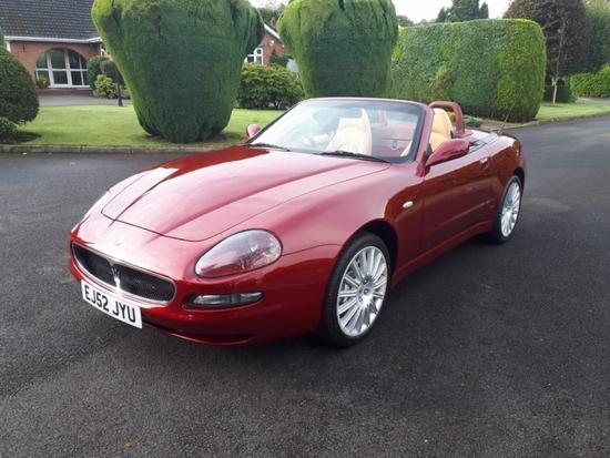 2003 Maserati 4200 Spyder Cambiocorsa