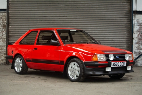 1983 Ford Escort RS 1600i