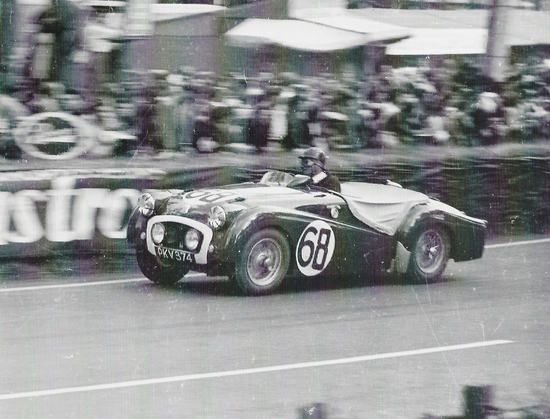 1955 Triumph TR2 - PKV 374 - The ex-Works Le Mans 24-hours