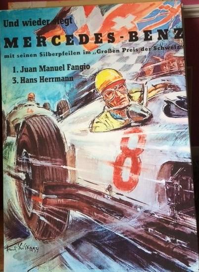 Mercedes-Benz Swiss Grand Prix canvas