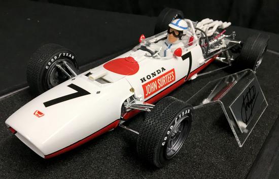 1/12 Scale, Honda RA273, Surtees, pro-built kit
