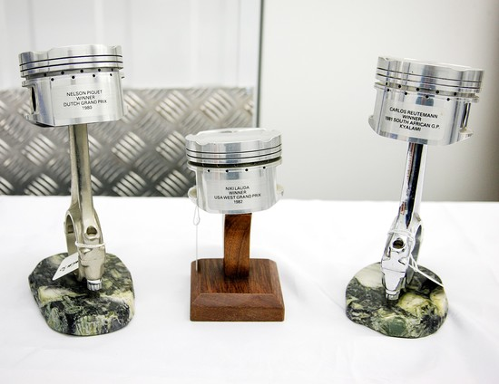 A Trio of Pistons