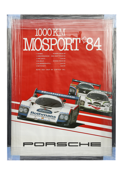 Porsche 1000km of Mosport 1984 poster