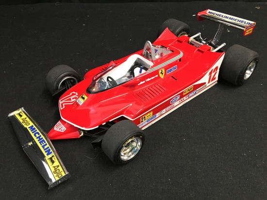 1/12 Scale, Ferrari 312T4, Gilles Villeneuve, pro-built kit
