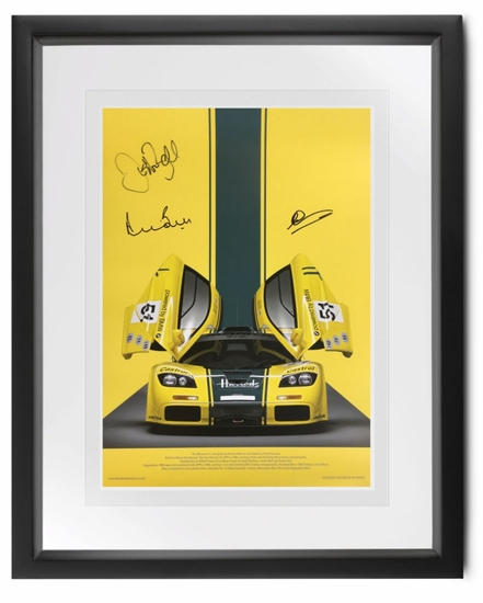McLaren F1GTR 'Harrods' signed by Bell and Wallace