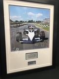 Brabham BT52 Test, signed by Sir Stirling Moss