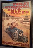 World's International Auto Races poster