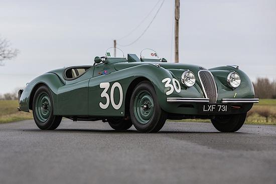 1950 Jaguar XK120 Competition Roadster – Ex-Duncan Hamilton