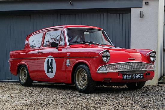 1968 Ford Anglia Super (123E) Race Car (FIA)