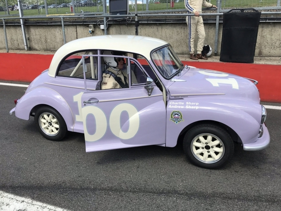1968 Morris Minor Academy Race Car