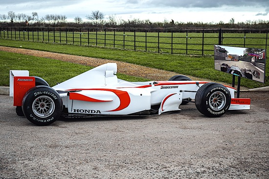 2006 Super Aguri F1 Simulator and Shuttle Trailer