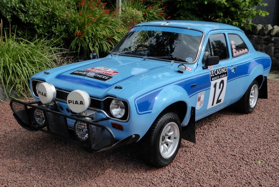 1972 Ford Escort RS1600 Mk 1 Historic Rally Car