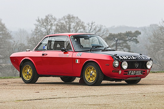1972 Lancia Fulvia 1600 HF Rally Car