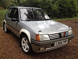 1986 Peugeot 205 XT Club Rally Car
