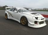 1993 Toyota Mk 4 Supra Race Car and Brian James Trailer