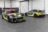 A Pair of Jaguar F-Type SVR GT4 Race Cars and Spares Package