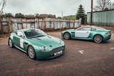 A pair of Aston Martin Vantage Rally GT Cars and Spares Package