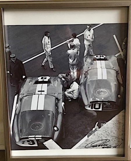 Two x Shelby Daytona Cobra prints