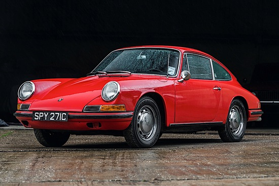 1965 Porsche 911 SWB 2.0