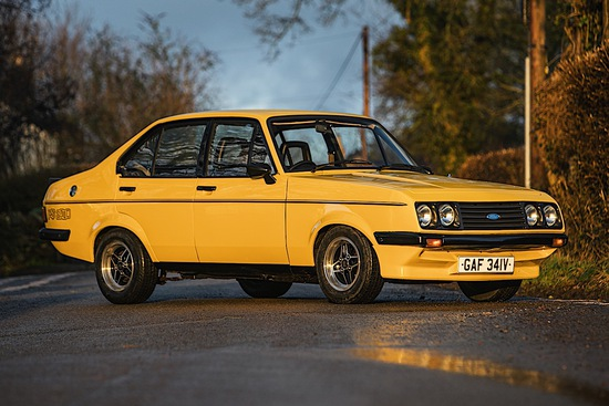 1979 Ford Escort RS2000 (Four-door)