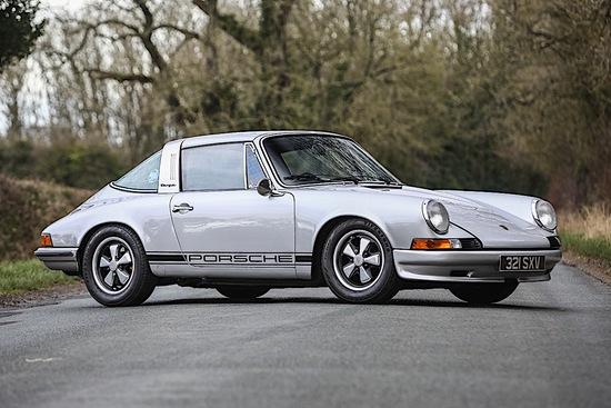 1973 Porsche 911E 2.4 Targa (MFI)