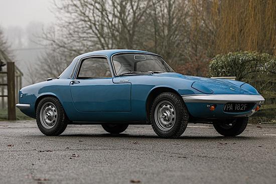 ***REGRETFULLY WITHDRAWN***1968 Lotus Elan S3 Coupe (Type 36)