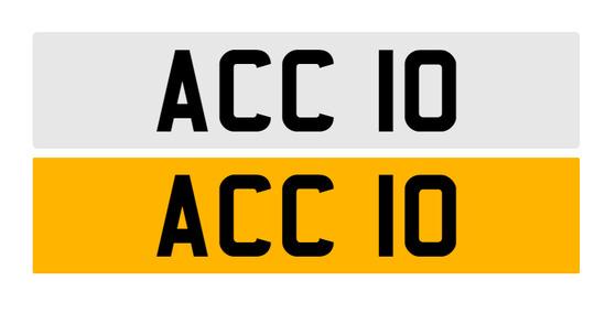 Registration number ACC 10