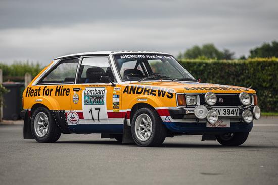 1980 Talbot Lotus Sunbeam ex-Works Rally Car