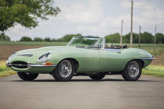 1967 Jaguar E-Type 4.2 Series 1 Roadster