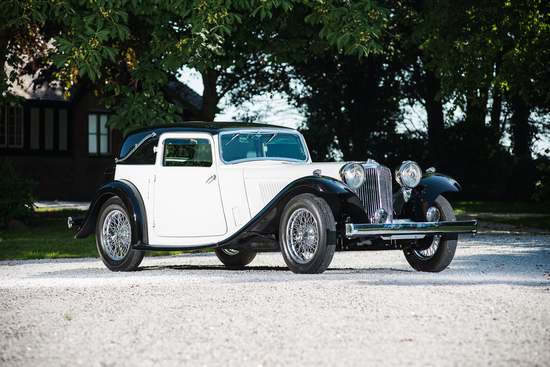 1934 Swallow SS1 4-Seat Fixed Head Coupe