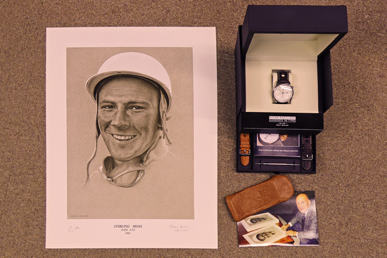 2009 Peter Ratcliffe Legends in Time Stirling Moss 80 Celebration Chronograph