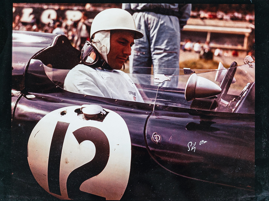 Signed photograph of Sir Stirling Moss