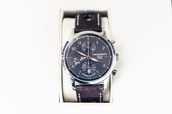 Stirling's 80th Birthday Watch with black dial 1/80