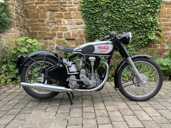 1950 Norton Model 30 International 500