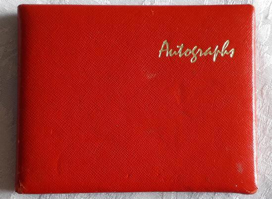 A Very Impressive, Motor Sport Autograph Book