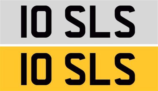 Registration Number 10 SLS