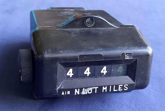 An Original Nautical Air Miles Indicator c.1970