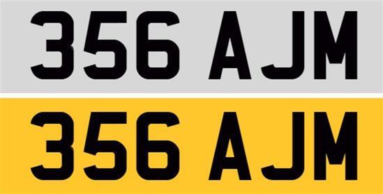 Registration Number 356 AJM