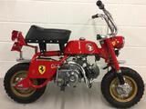 1969 Honda Z50A Ferrari Tribute Monkey Bike