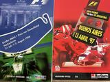 A Quantity of Formula 1 Programmes From 1997 and 1998